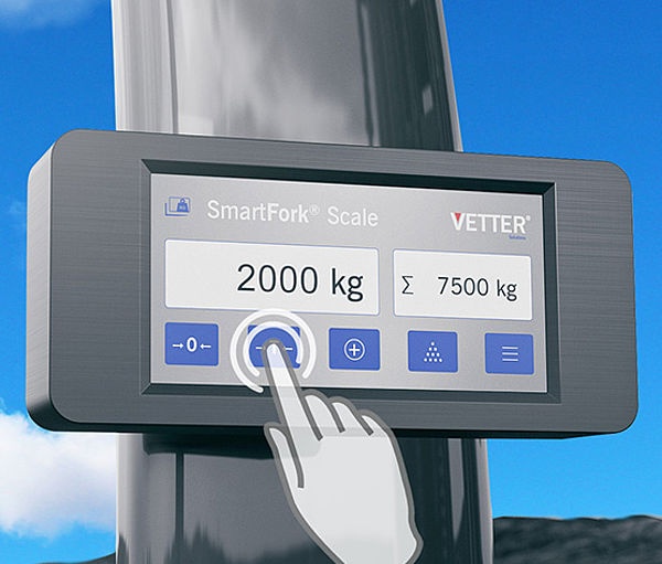 SmartFork Scale Monitor weight